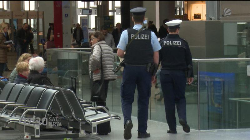 Sicherheit in NRW (Foto: SAT.1 NRW)