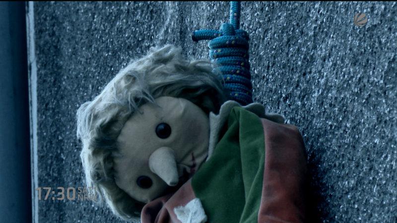 Grusel-Puppe von Köln (Foto: SAT.1 NRW)