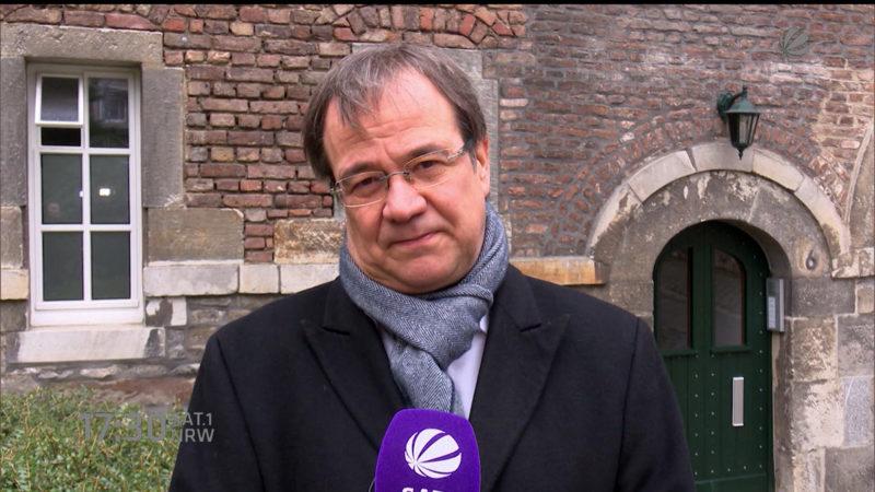 Interview zur Terrorabwehr (Foto: SAT.1 NRW)