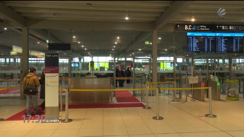 Sicherheitsleck am Flughafen? (Foto: SAT.1 NRW)