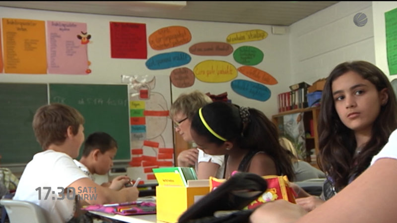 Streitpunkt: Unterrichtsausfall (Foto: SAT.1 NRW)