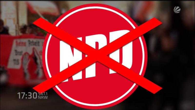 NPD-Verbot (Foto: SAT.1 NRW)
