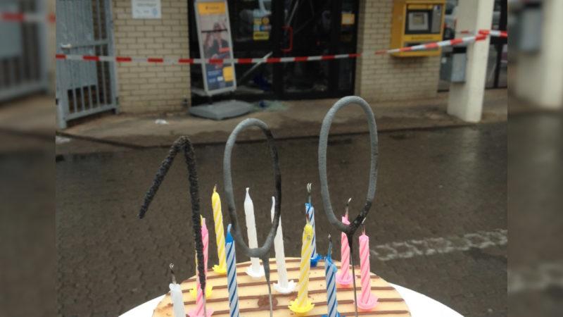 100. Geldautomat ist gesprengt (Foto: SAT.1 NRW)