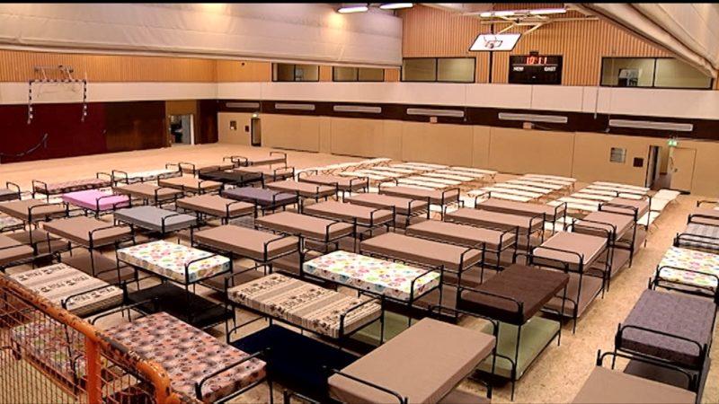 Asylbewerberheime wieder als Turnhallen (Foto: SAT.1 NRW)