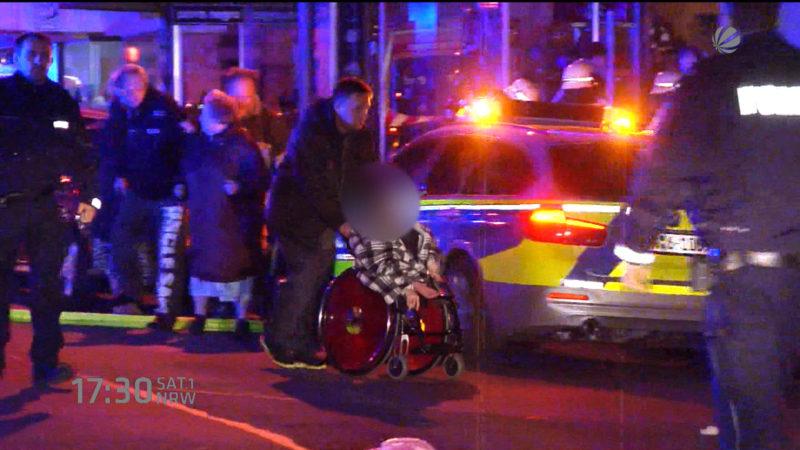 Polizist wird zum Retter (Foto: SAT.1 NRW)