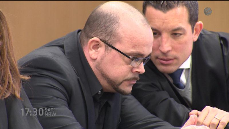 Bodyguard von Verona Pooth verurteilt (Foto: SAT.1 NRW)