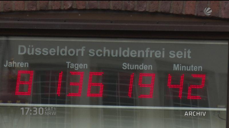Ultimatum im Schuldenstreit (Foto: SAT.1 NRW)