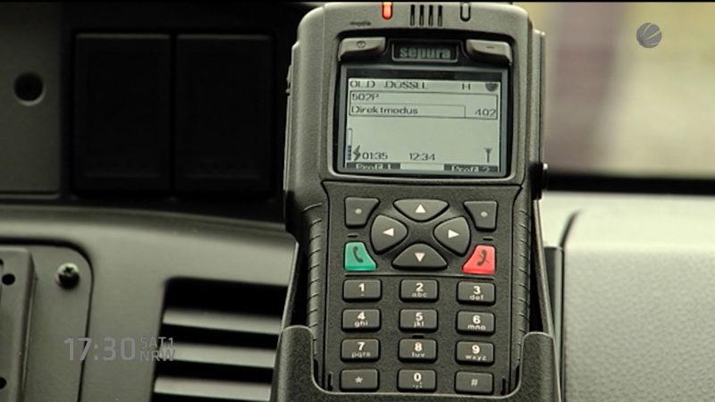 Probleme beim Polizeifunk (Foto: SAT.1 NRW)