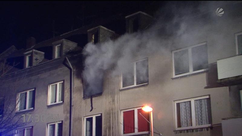 Mysteriöse Feuer (Foto: SAT.1 NRW)
