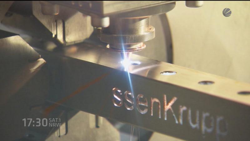Studie befürchetet Jobverluste in der Stahlbranche (Foto: SAT.1 NRW)