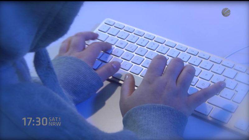 Kampf gegen Cyber-Crime (Foto: SAT.1 NRW)