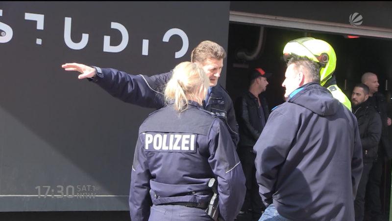 Attacke auf Türsteher (Foto: SAT.1 NRW)