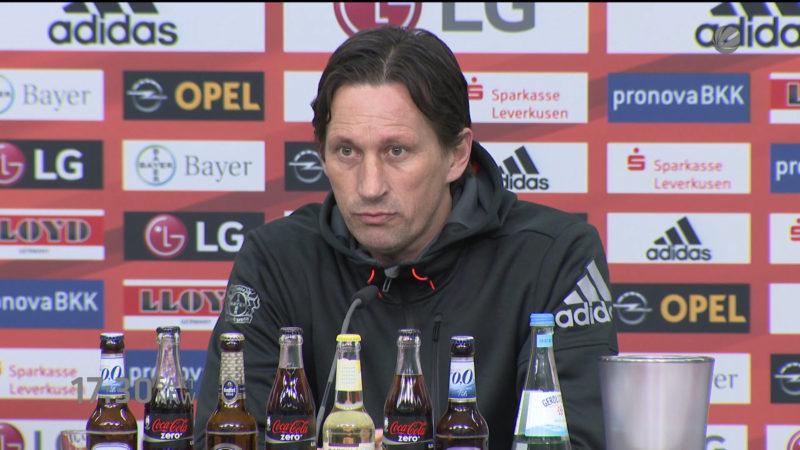 Bayer Leverkusen gegen Wolfsburg (Foto: SAT.1 NRW)