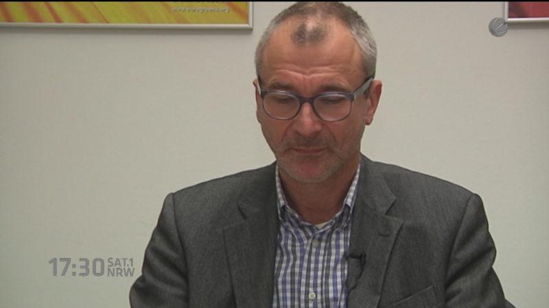 Volker Beck mit Drogen erwischt (Foto: SAT.1 NRW)