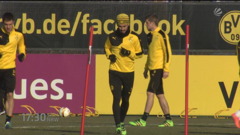 Gündogan zu Guardiola? (Foto: SAT.1 NRW)