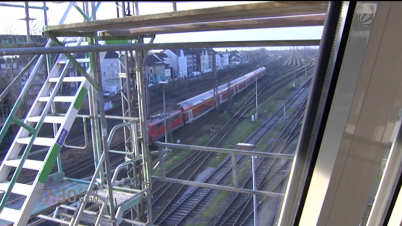 Stellwerk Mülheim wieder in Betrieb (Foto: SAT.1 NRW)
