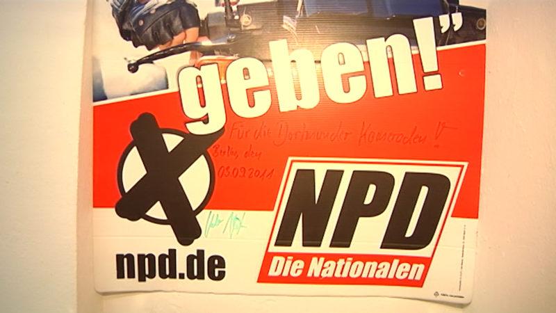 Soll die NPD verboten werden? (Foto: SAT.1 NRW)