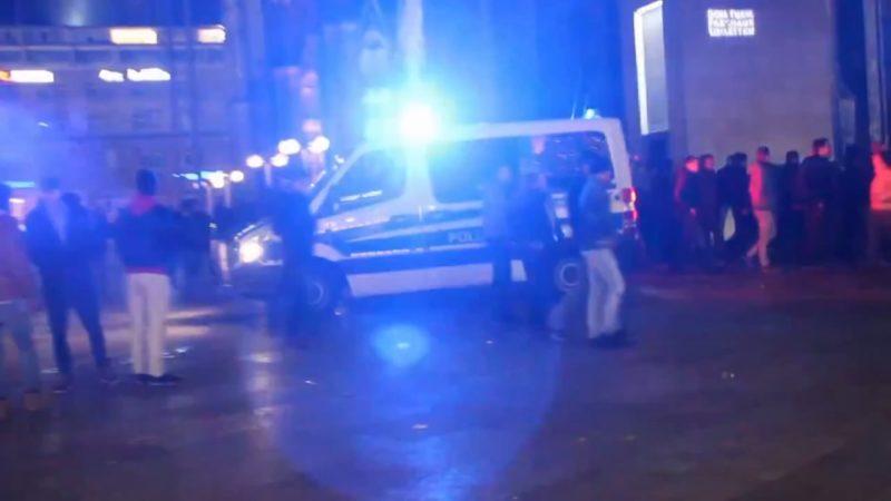 Weniger Polizei an Silvester als bekannt (Foto: SAT.1 NRW)