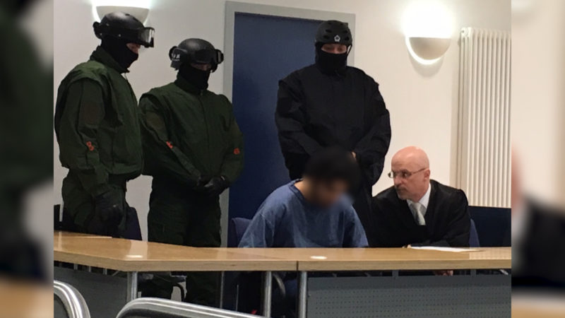 Geständnis im Mordprozess (Foto: Sat.1 NRW)
