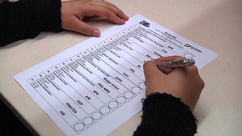 Wahlrecht für 16-Jährige in NRW (Foto: SAT.1 NRW)