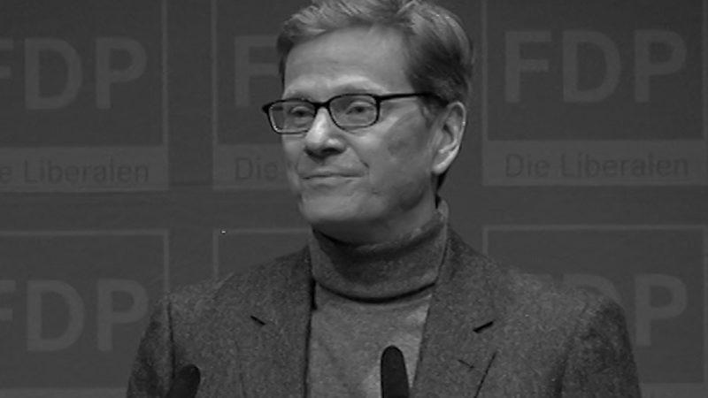 Guido Westerwelle ist tot (Foto: SAT.1 NRW)