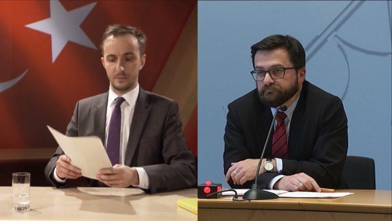 Justizminister kämpft für Böhmermann (Foto: SAT.1 NRW)