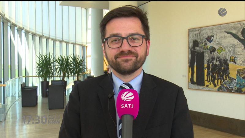 NRW-Justizminister will Böhmermann helfen (Foto: SAT.1 NRW)