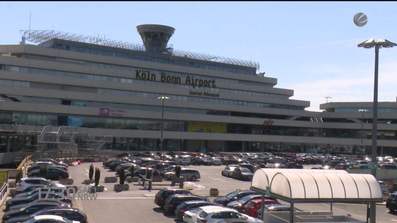 Neue Sicherheitspanne am Flughafen Köln/Bonn (Foto: SAT.1 NRW)