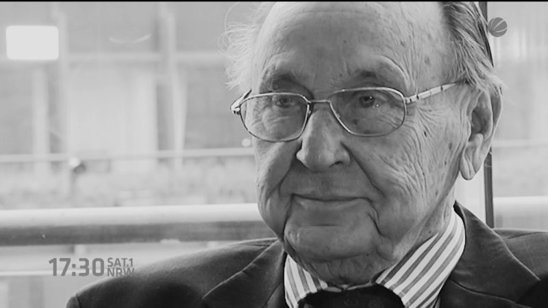 Hans-Dietrich Genscher gestorben (Foto: SAT.1 NRW)