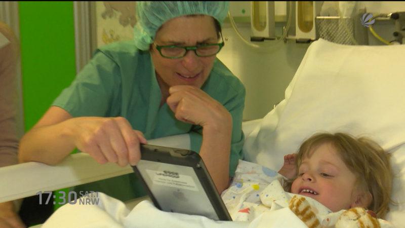 Tablet statt Beruhigungsmittel für Kinder (Foto: SAT.1 NRW)
