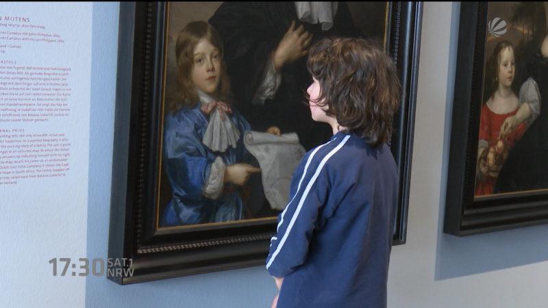 Museum hängt Bilder tiefer - der Grund ist ganz simpel (Foto: SAT.1 NRW)