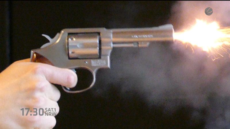 Schuss auf SEK-Beamten (Foto: SAT.1 NRW)