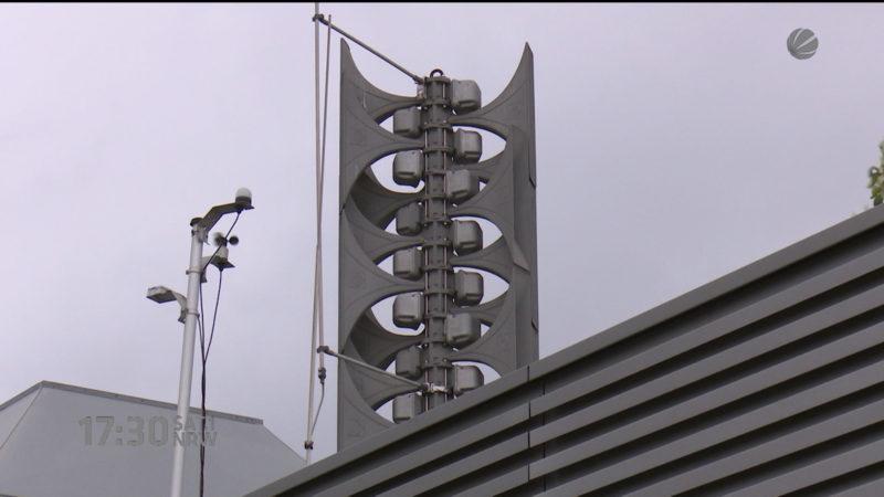 Sirenentest in NRW (Foto: SAT.1 NRW)