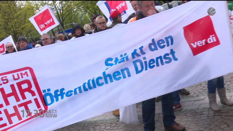 Kein Verständnis für den Streik (Foto: SAT.1 NRW)