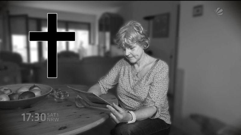 Frau fälschlicherweise für tot erklärt (Foto: SAT.1 NRW)