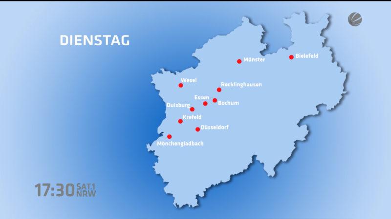 Streik in NRW ab Dienstag (Foto: SAT.1 NRW)