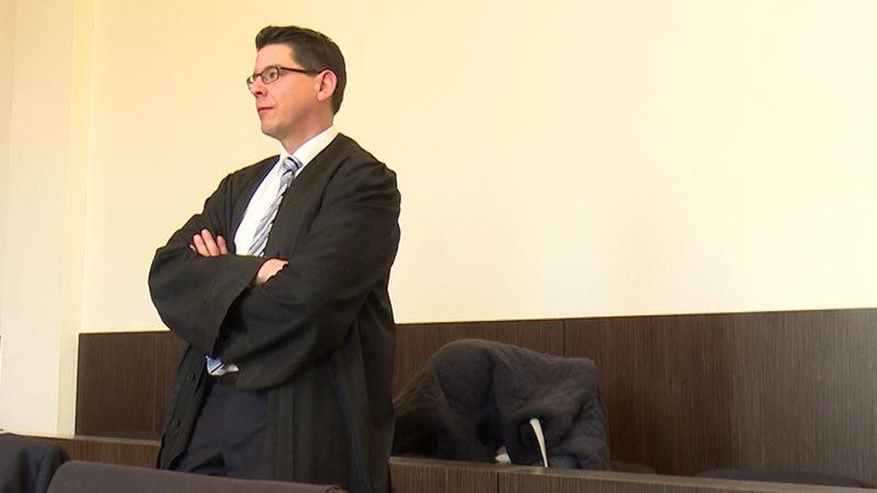 Erster Grabscher vor Gericht (Foto: SAT.1 NRW)