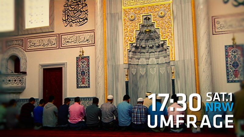 Moschee-Überwachung (Foto: SAT.1 NRW)