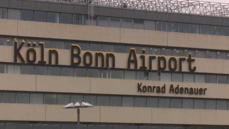 Nächste Sicherheitspanne am Flughafen (Foto: SAT.1 NRW)