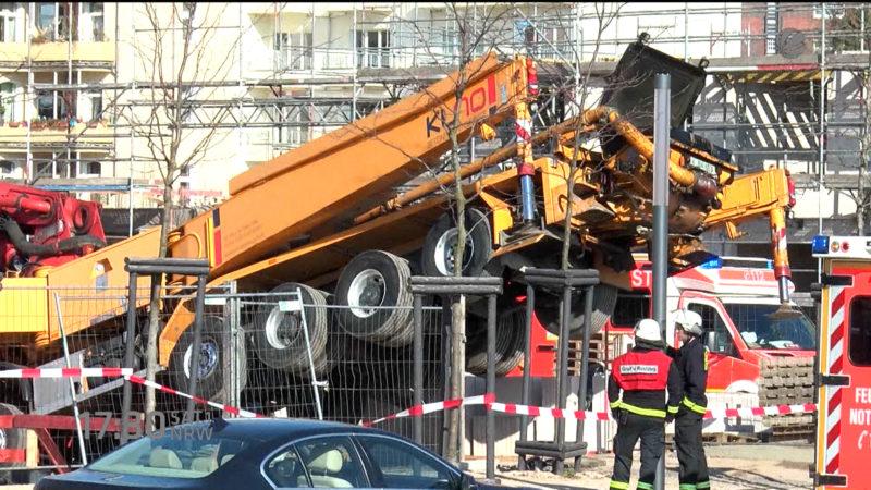 Tote auf der Baustelle (Foto: SAT.1 NRW)