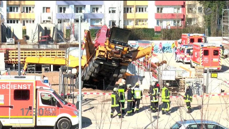 Boden weggesackt (Foto: SAT.1 NRW)