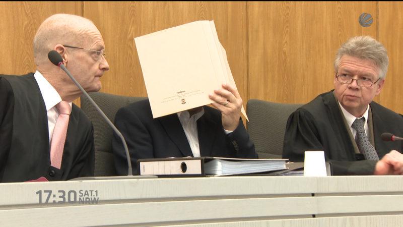 Ehefrau erstochen - Bottroper vor Gericht (Essen) (Foto: SAT.1 NRW)