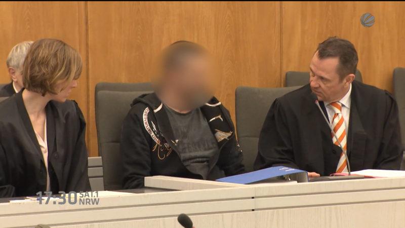 Prozess um Krankenhaus-Geiselnahme (Foto: SAT.1 NRW)