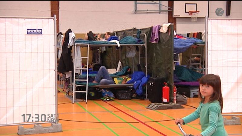 Turnhallen wieder geöffnet (Foto: SAT.1 NRW)