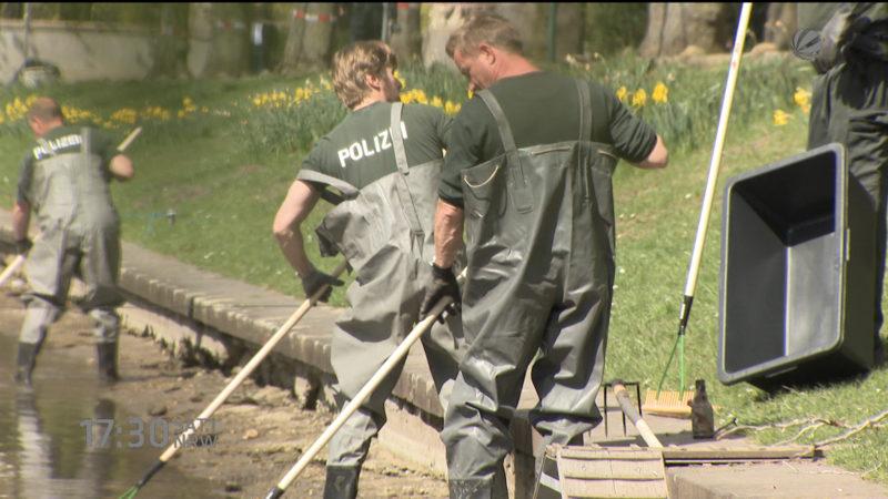 Festnahme im Mordfall Blücherpark (Foto: SAT.1 NRW)