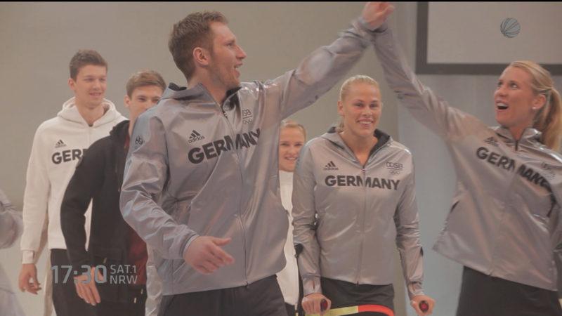 Olympiamode vorgestellt (Foto: SAT.1 NRW)