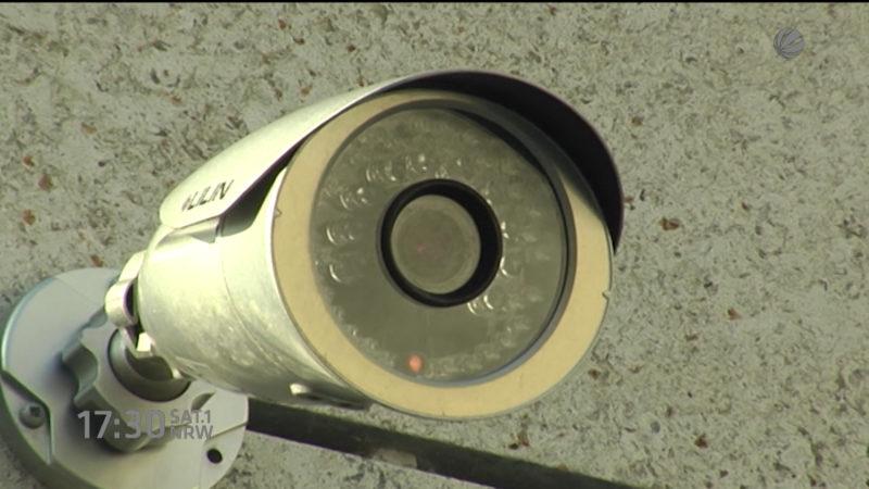 Ministerpräsidentin zu Videobeobachtung in NRW (Düsseldorf) (Foto: SAT.1 NRW)