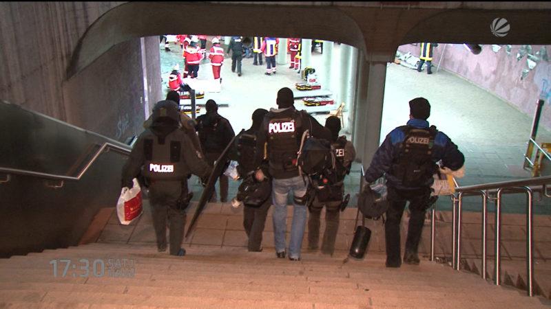 Terrortraining für NRW (Düsseldorf) (Foto: SAT.1 NRW)