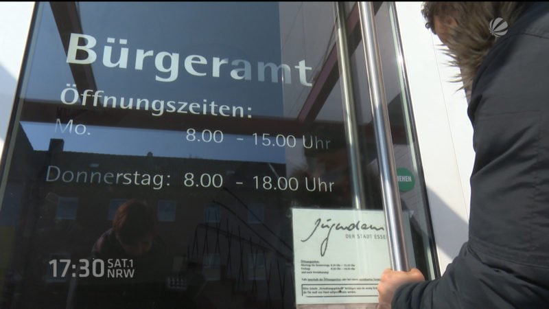 Bürgerämter bearbeiten jetzt Asylanträge (Essen) (Foto: SAT.1 NRW)