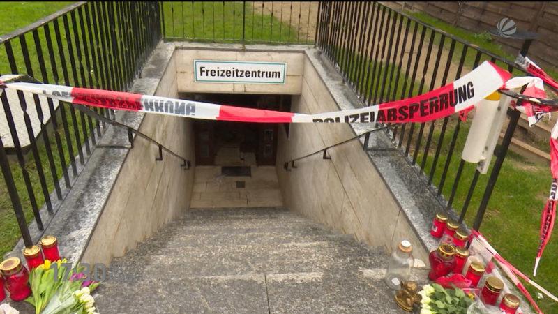 Stromschlag nicht die Ursache des Schwimmbad-Dramas (Bergheim) (Foto: SAT.1 NRW)